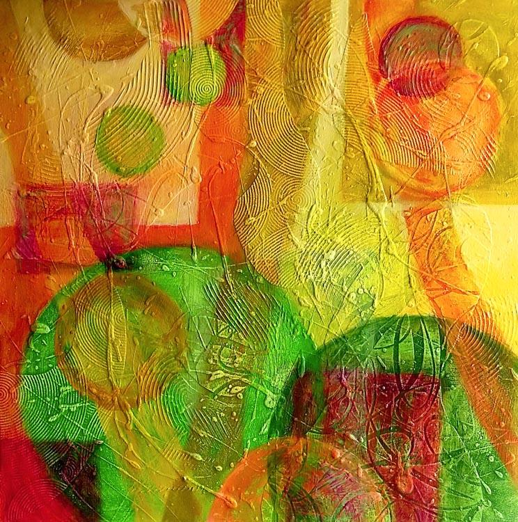 Harmonie, Acryl, 50×50